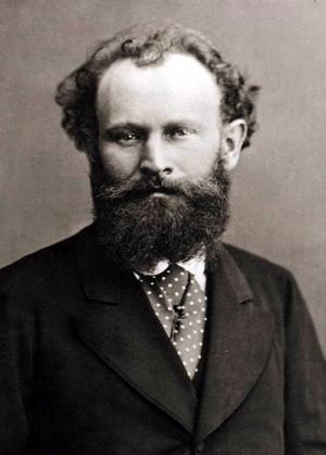 Manet photographed by Nadar, 1874.